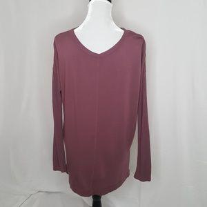 Lou & Grey Oversized V-Neck Sweater